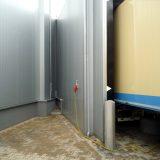 Bir et ürün paketleme şirketinde yerleştirilmiş yükleme odası