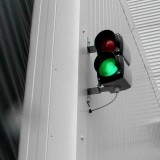 9 Exterior traffic light