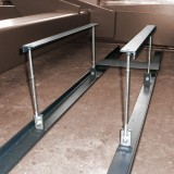 mounting bracket for unit under the lifting table