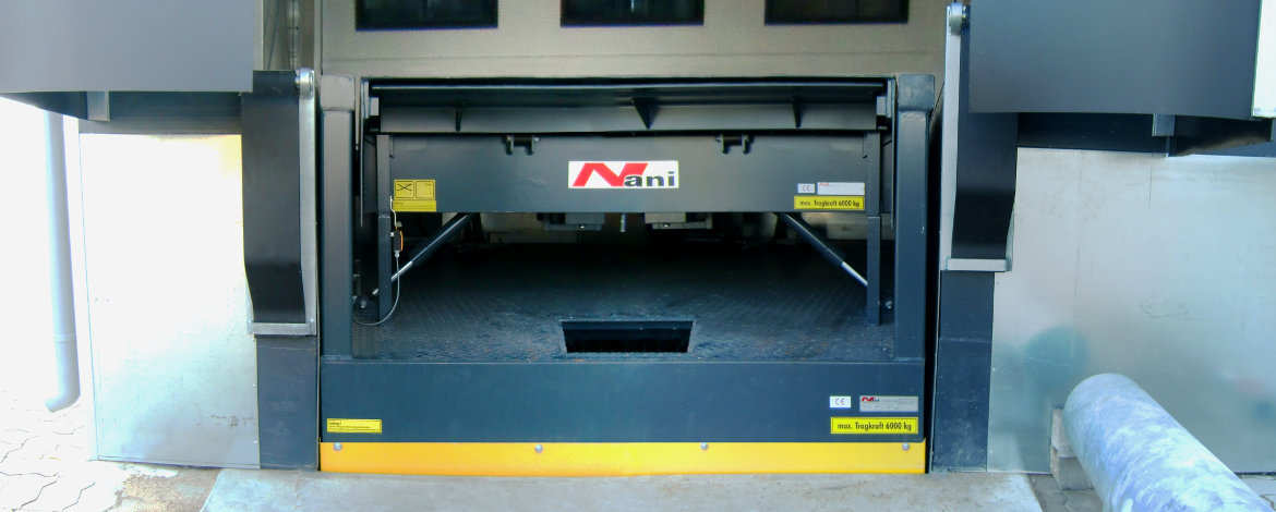 HTVB lifting table with dockleveller