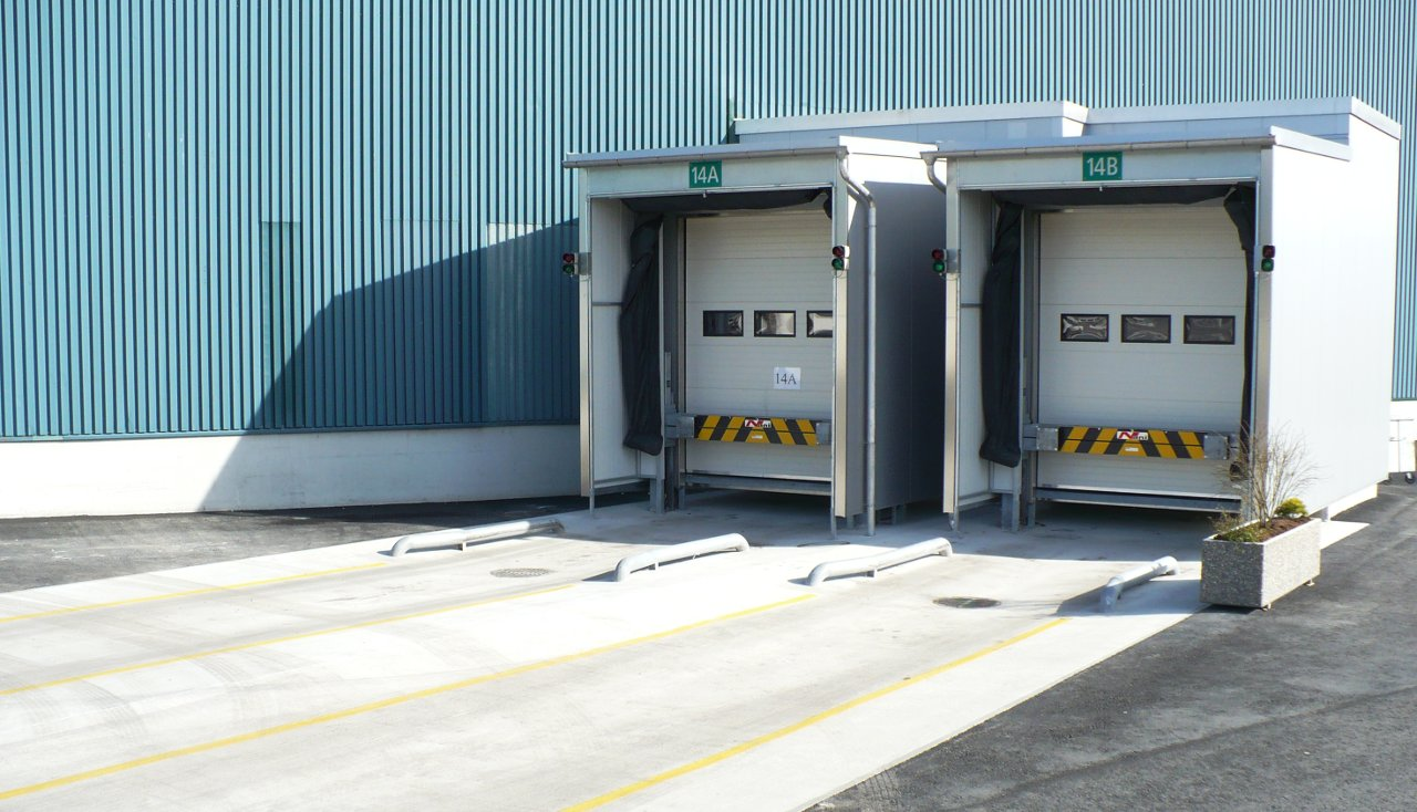 Food Logistics – Insulated Loading House