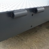 hinge plate at the rear with hinged lip connector (KBM)