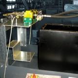 Verladehubtische – Ölwanne mit Mengenteiler