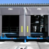 Dockleveller and Dockshelters at Loading Platform