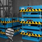 Schwerlasthubtische – HT80 [=8000kg] blau lackiert