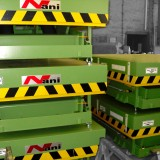 heavy load lift table HT80 [= 8000kg] green lacquered