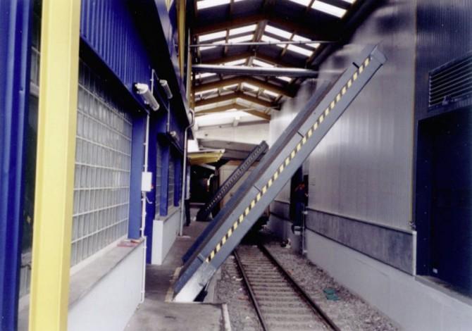 Tren Yükleme Köprüleri - Döner-Sabit-Hidrolik