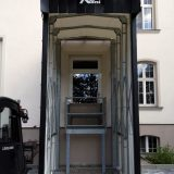 teleskopierbare Torabdichtung Klinik