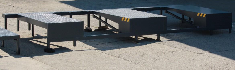 Verladeplattform für Überladebrücken