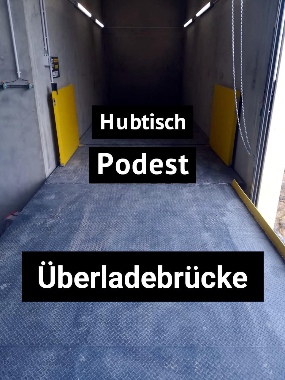 Verladeplattform Kombination SOH-Hubitsch
