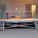 before – loading platform without lifting table