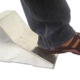 elektronischer Radkeil – Test mit dem Fuß