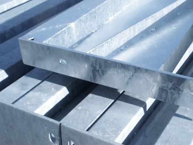 Stahl nach Feuerverzinkung