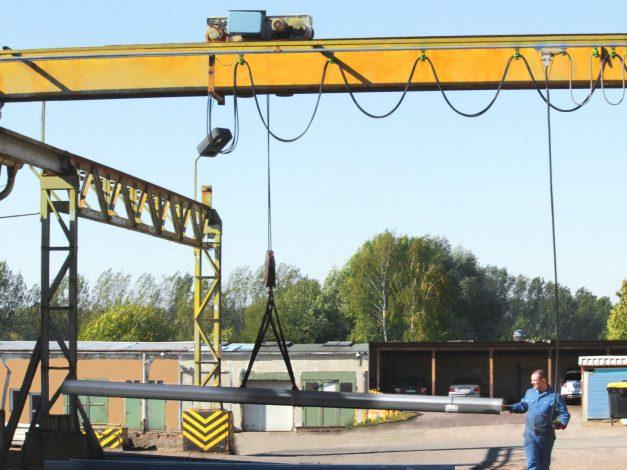 Kranbahn mit Stahlträger