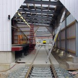 Installation of Docklevellers for Train Loading
