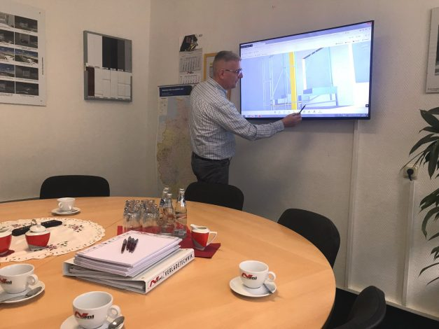 Presentation of construction