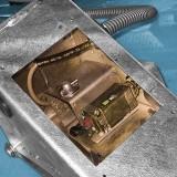 elektronischer Radkeil – geöffnet