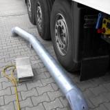 Einfahrhilfen – mit Radkeil – Lkw bereits angedockt