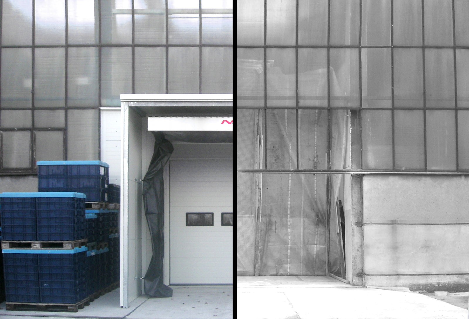 before/after – Industrial Doors