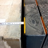 Measured slit on loading ramp