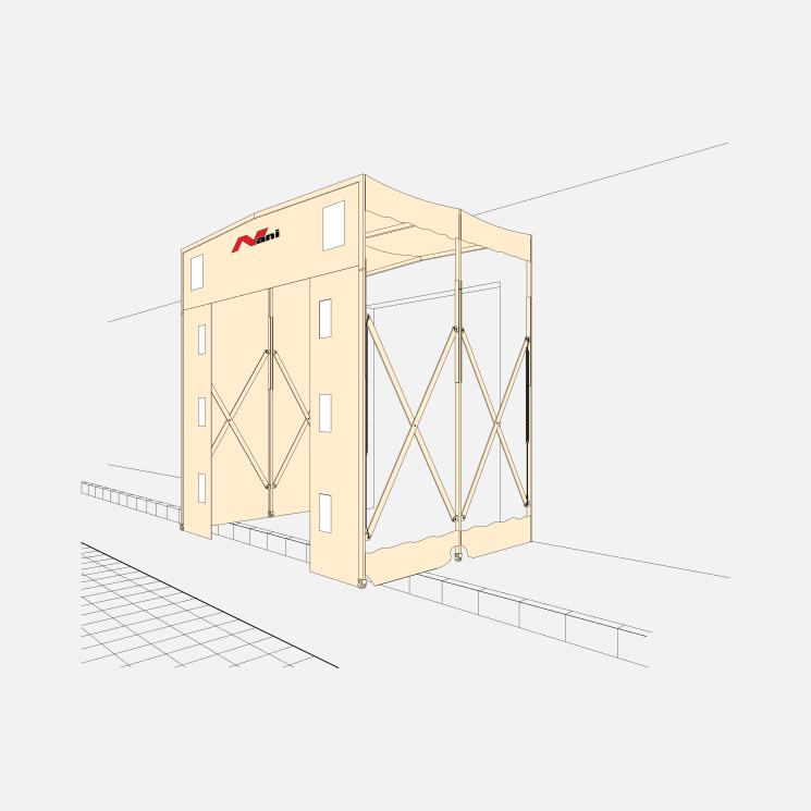 Telescopic Dockshelter (T-TAD)