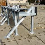 Stahlgestell einer Seitlich-Verschiebbare-Aluminiumbrücke (SV-A)