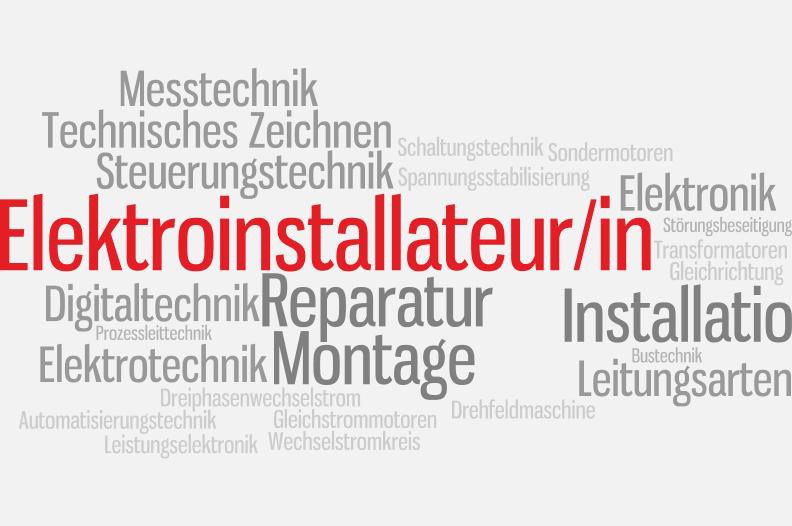 Elektroinstallateur/in