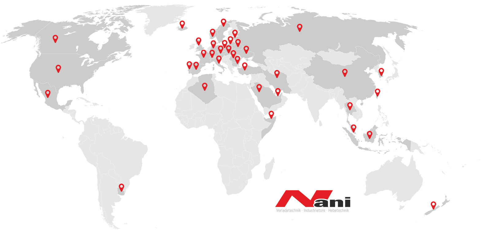 Nani - Global Presence