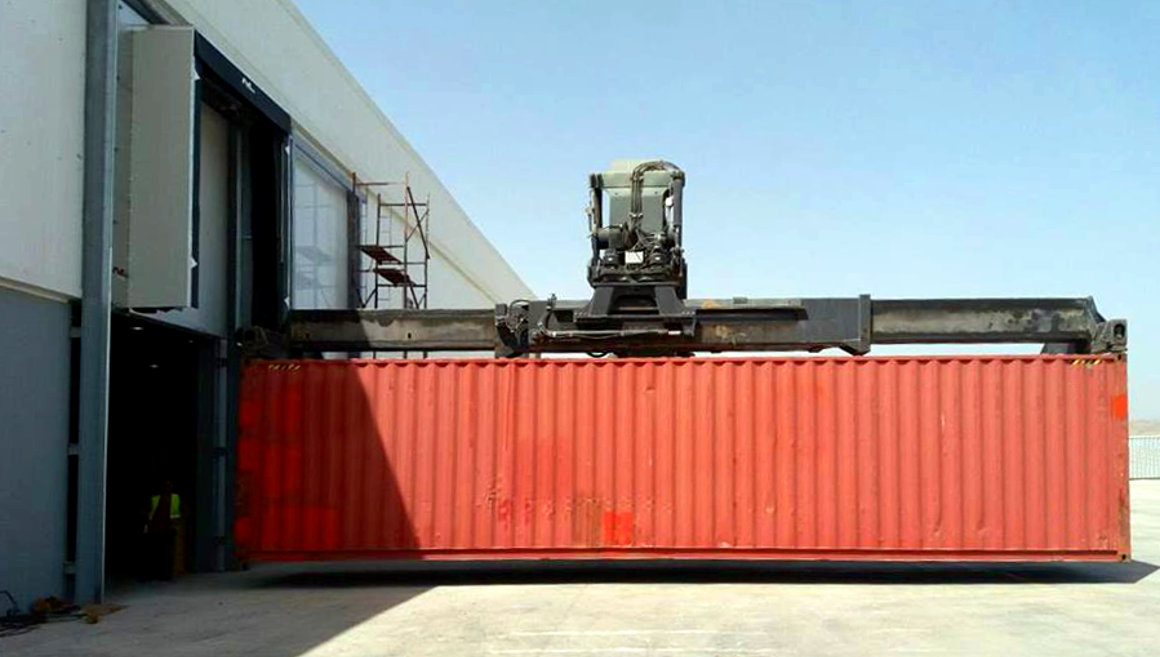 Containerlogistik Algerien Referenz
